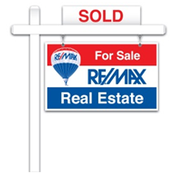 REMAX FOR SALE SIGN SOLD